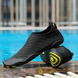 السباحة الرجال أحذية رياضية في الهواء الطلق الرياضة الغوص أحذية المياه شاطئ البحر شاطئ تصفح النعال التجفيف السريع upstream أكوا الأحذية