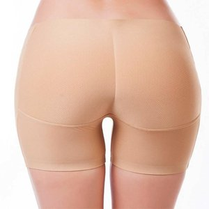 Seamless Breathable Push Up Buttock Shape Pants Sexy Triangle Ladies Intimate Underwear Low Waist Fake Ass BuPads Underpants