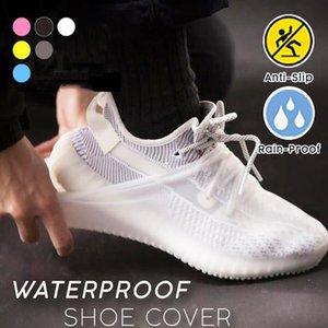 Su Geçirmez Ayakkabı Yağmur Sile Için Kapakları Sile Ayakkabı Kapak Bisiklet Kullanımlık Esneklik Gazileri Kaymaz Bisiklet Boot Protecto Bbyfyh