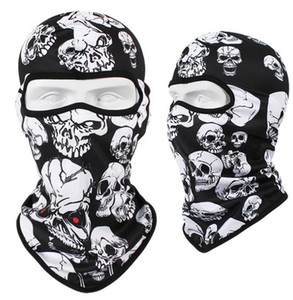 Windproof Tactical Scarf Skull Full Face Protect Outdoor Airsoft Hood Cycling Ghost Mask Skeleton Winter Ski Riding Warm Flfqn