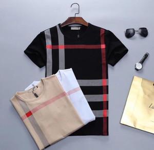 2021 Nuevo verano camiseta mangas cortas suelta color sólido tendencia popular logo cuerpo pareja ropa de hombre ropa inferior camisa en la redonda # 01