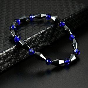 Fashion Cone Shape Magnetic Hematite Bracelet Stone Beads Bracelets Bangle cuff women men Power Healthy fashion Jewelry will and sandy