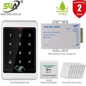 Металл и водонепроницаемый сенсорный экран Доступ к NFC Control Control Reader Standalone Full Kits Control System1