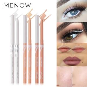Multi-Purpose Makeup Pen White Eyeliner Concealer Lower Eyelid Pen Rotatable Automatic Core Out eye liner Waterproof TSLM1
