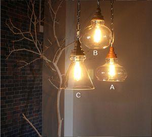 Creative Nordic Hanging Lights E27 LED Wood Single Head Pendant Lamp per cucina soggiorno bagno camera da letto corridoio bar bar