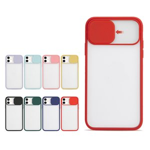2020 Slide Camera Cover Lens Protection Case for iPhone 12 pro max Mini 11 XS XR 6 7 8 Plus Note20 S20 Ultra