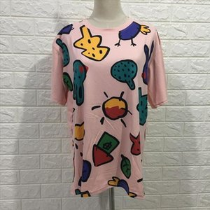 Oversized Summer Tshirt Women Clothes Short Sleeves Streetwear Ladies Hip Hop Tops Tee shirts Female Cotton Print O neck T shirt
