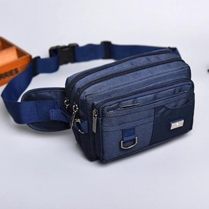 New Arrival Casual Bag Waist Packs Canvas Quality High Bags Men Male Mens Messenger Multi-function Travel Belt Wallet Vxqhp