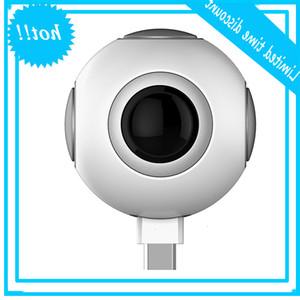 50% di sconto sul clic di Shooting Panoramic View 720 Gradi Doppia Fisheye PTZ VR Video Mini Camera Spy Camera