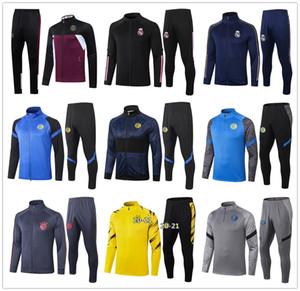 20 21 Mens INTER MILAN Fußball-Trainingsanzug jacket 2020 2021 INTER MAILAND Fußball Trainingsanzug Jacken
