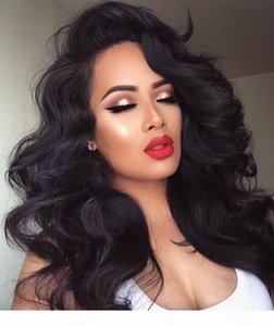 Glueless Body Wave Lace Front Wigs Unprocessed Brazilian Virgin Human Hair Wig Pre Plucked Natural with Baby Hair Wig for Black Women