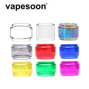 Bulbo colorido Pyrex Glass Tube para fumar TFV12 Prince Tank Atomizer 8ml Capacidad Fit Stick Prince / MAG 225W TC Kit