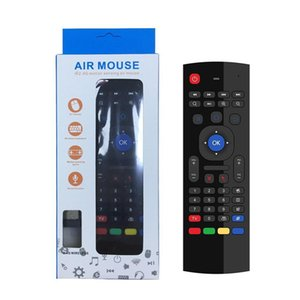 MX3 Air Mouse with Microphone Voice IR Learning 2.4G Wireless Mini Keyboard Smart Remote Control Universal For HTPC Android Smart