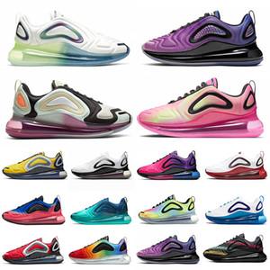 Wholesale bulle pack aqua poudre de course chaussures chaussures Chaussures mer Forêt triple noir blanc Betuture coucher de soleil femmes Femmes Baskets de sport
