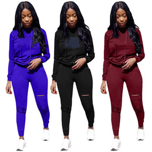 Women jogger suit plus size 3X outfits fall winter clothing tracksuits hoodies+pants two piece set casual sportswear black sweatsuits 4455