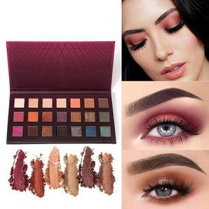 21 Colors Eyeshadow pallette Makeup Tools Cosmetic Matte Eyeshadow Cream Makeup Palette Shimmer Set Maquiagem 10W10