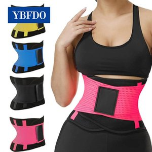 YBFDO Fitness Belt Body Shaper Waist Trainer Trimmer Corset Waist Belt Cincher Wrap Workout Shapewear Slimming Plus size S-3XL