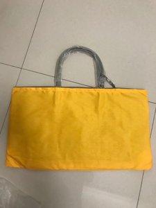 2019 alta qualidade sênior designer bolsa de couro saco de compras de couro pijama saco grande capacidade de compras portátil C0121