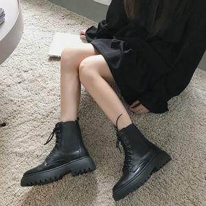 Y4UI PLUS Размер середины зимних снежных ботинок для женщин плюшевые хлопчатобумажные загустия шнурок на снегу 48 сельскохозяйственные ботинки 2020 новый индивидуальный, хаки, белый
