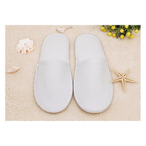 Wholesale- Hotel Disposable Bathroom Mat Slippers Wholesale High-grade White Hotel Currency Supplies Home Mat Slipp qylTCB sweet07