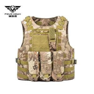 PAVEHAWK Taktik Yelek Molle Combat Assault Plaka Taşıyıcı Taktik Yelek CS Açık Giyim Avcılık