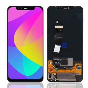 OLED LCD 6.21 polegadas para Xiaomi MI 8 Pro LCD Display Touch Screen Digitador Assembly Peças sobressalentes