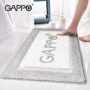 Gappo Non Slip Bath Mat Baño Alfombra Estera en el baño Cómodo Bath Pad Bedroom Rugs1