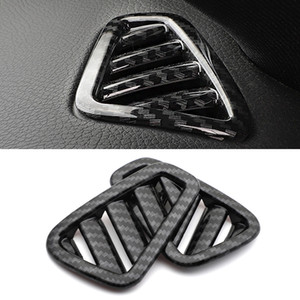 Car Accessories Stainless ABS Dashboard Air Vent Outlet Cover Trim Frame Sticker for Mercedes-Benz A-Class V177 W177 2018-2021