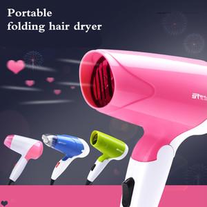 Household viaggiatore 1300W mini formato pieghevole capelli Blower EU Plug elettrico Asciugacapelli Con Raccolta ugello Low Noise asciugatrice D40