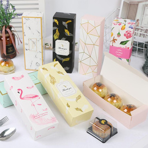 9 Style Candy Pineapple Cake Packaging Boxes Wholesale Paper Gift Boxes for Chocolate Mooncakes Macaron Party Cookies EWD3080