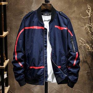 giacca 20FW autunno uomo inverno lettera tendenza nuova alta qualità di modo uniforme stile baseball di cotone di stampa del rivestimento del cappotto di formato M-4XL