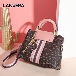 Ladies handbag shoulder bag designer design fashion PVC portable ladies handbag texture printing gift 1 L9030