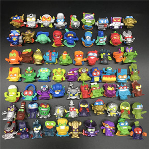 10-50pcs Original Superzings Superthings Action Figures 3CM Super Zings Garbage Trash Collection Toys Model for Kids Gift Q1123