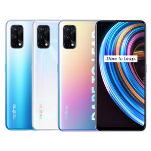 Original Realme X7 5G Mobile Phone 6GB RAM 128GB ROM MTK 800U Octa Core Android 6.4 inch Full Screen 64MP 4300mAh Fingerprint ID Cell Phone
