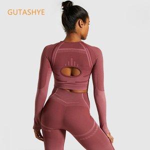 Gutashye 2 zarte Training Beha und Leggings Sport für Frauen Fitnessstudio Kleidung Athletic Yoga Set