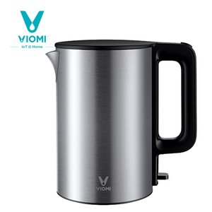 Original Viomi 220V 1800W 1.5L Hervidor eléctrico Acero inoxidable Hervidor de agua Calefacción de la olla Tetera Calefacción rápida de Xiaomi youpin y1207