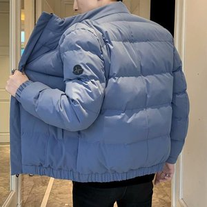 Manteau pour hommes Coton en coton d'hiver Vêtements rembourrés Slim Fit Grand Coton court Cotton Veste rembourrée Vêtements de travail en coton
