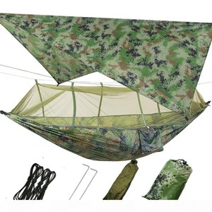 Waterproof, Anti-mosquito, Sunshade, Nets, Ceiling Bed Set, Field Camping, Air Swing Hammock 310,310 Sky Curtain