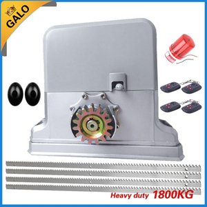 Heavy duty 1200-1800kg electric sliding gate motors automatic gate opener engine 4m or 5m or 6m racks with 1photocell 1lamp
