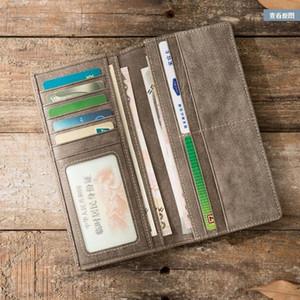Hot sale leather women wallet change purse classic letter canvas purses Original Box Women Classic Shoulder Bags