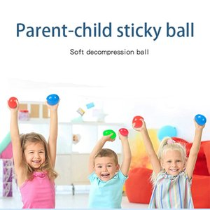 6.0 سنتيمتر luminescent لزجة الضغط الكرة الإجهاد الإغاثة اللعب لينة الضغط الكرة قبض رمي الكرة للأطفال