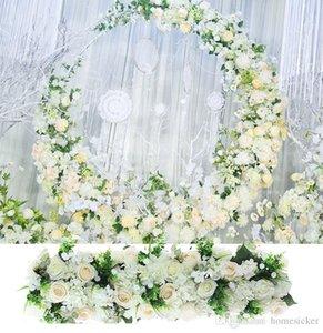 Organización de la flor de la flor de la boda personalizó la simulación Fake Decoration Props Scene Scene Road Leader