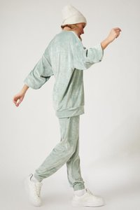 Happiness ist. Women Temporary Shed Velour Tracksuit Suit BP00057