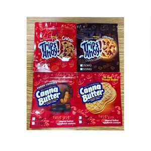 Gummy Edibles Packaging Canna Burro Viaggi Ahoy Cioccolato Chip Biscotti Burro di arachidi Burro di Arachidi Biscotti sandwich Medy Candy Biscotti croccante