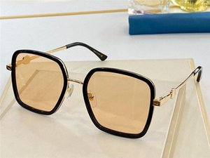 New fashion design sunglasses 4868 square full frame metal temple classic and generous shape uv400 protection glasses top quality