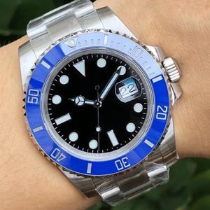 Fashion Black Blue Blue Branzel Designer Designer Giubileo Bracciale da uomo Lady Mechanical Automatic Gmt Uomo Uomo Luxury Mens Guarda orologi da polso orologi da polso