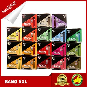 Newest BANG XXL Disposable Vape Pen 2000 Puff Pre-filled 6ml Cartridges Pods 800mAh Battery Vaporizer Kit Pods Device 12Pcs Box