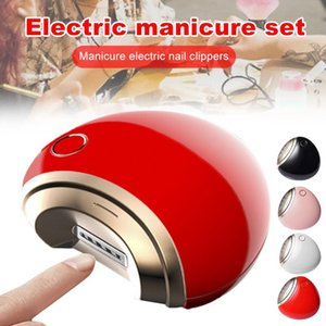 Electric Nail Clippers Nail File Trimmer Cutter Scissors Manicure Tool for Kid Elderly Adult EY669