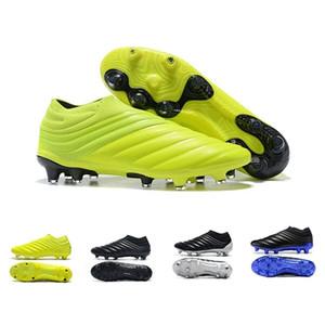 ACE 16+ Purecontrol Futbol Futbol Ayakkabıları NSG FG AG Gümüş Yeşil Yüksek Üst Çizmeler Ayakkabı Satış Üzerinde Kayma