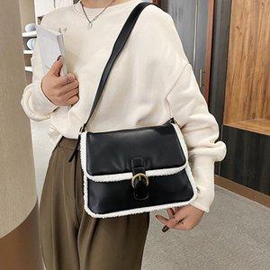 VeryMe Women's Handbags New Y Handbags Soft Leather Flap Purses Bag Winter Women Bimba Ladies Large For Bolso Crossbody And Lola Atgqi